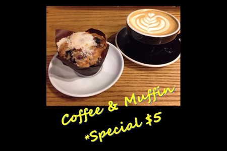 Coffee & Muffin Special